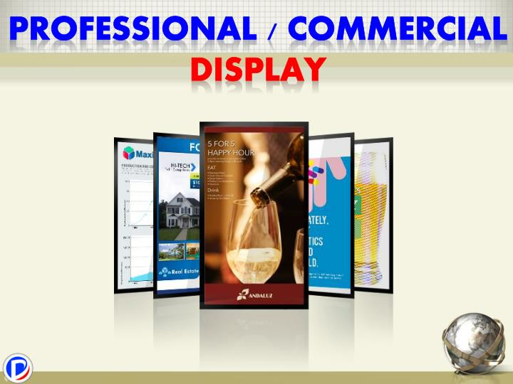 Professional / commercial