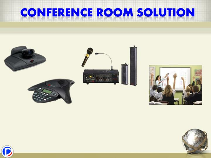 Conference room solution