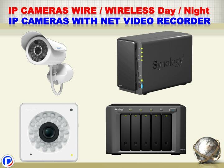 IP Cameras wire / wireless D