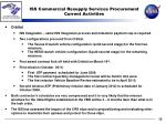 iss commercial resupply services procurement current activities1