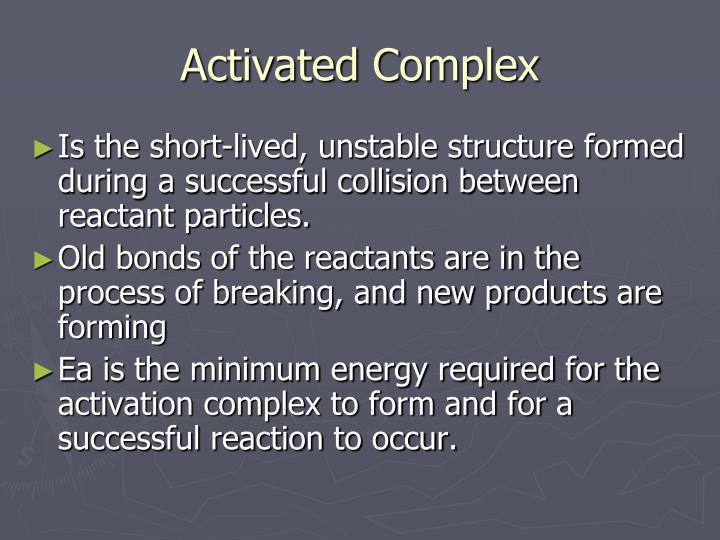 Activated Complex
