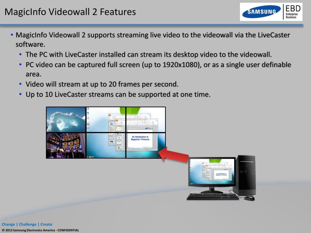 PPT - Samsung Videowalls PowerPoint Presentation - ID:6590825