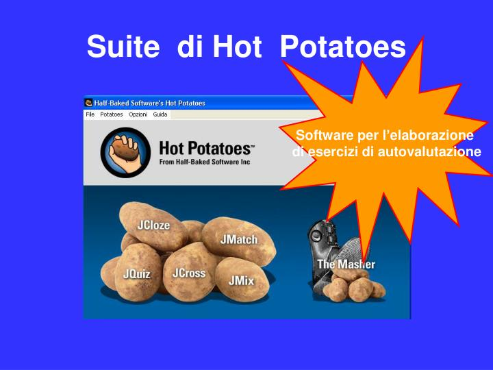 Suite  di Hot  Potatoes