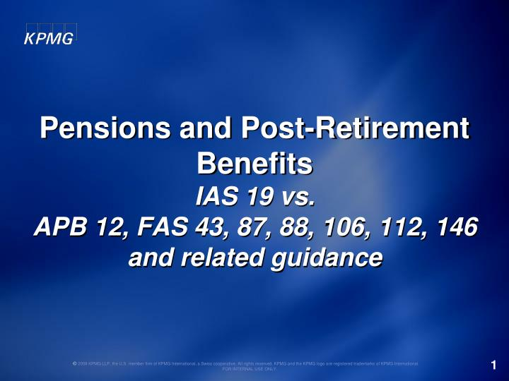 plan accounting defined benefit pension plan health Defined benefit plans – ias 19 in accounting for defined benefit plans, an entity should determine the present value of any defined benefit obligation and the fair value of any plan assets with such regularity that the amount shown in the financial statements does not differ materially from the amounts that would be determined at the balance sheet date.