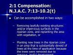 2 1 compensation n j a c 7 13 10 2 t1