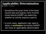 applicability determination n j a c 7 13 5 11