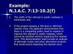 example n j a c 7 13 10 2 f2