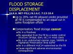 flood storage displacement a k a net fill n j a c 7 13 10 42