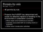 permits by rule n j a c 7 13 7