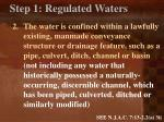 step 1 regulated waters2