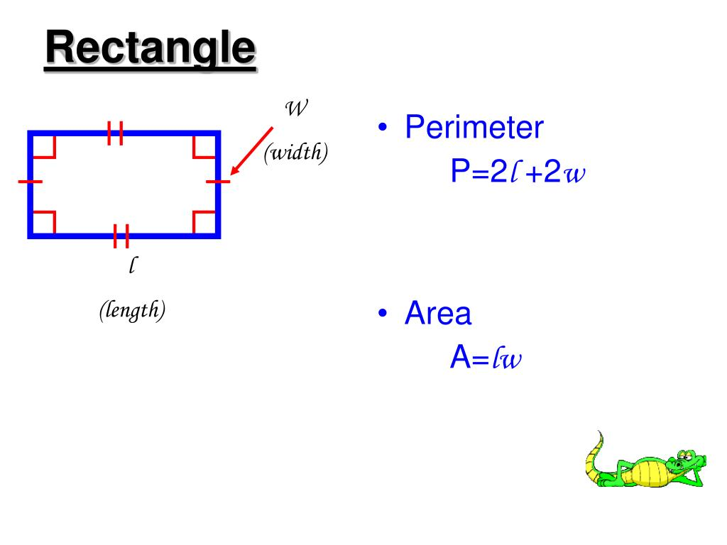 PPT - 1.7 Introduction to Perimeter, Circumference, & Area ...