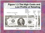 figure 1 3 the high costs and low profits of retailing