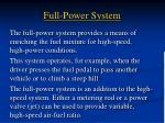 full power system