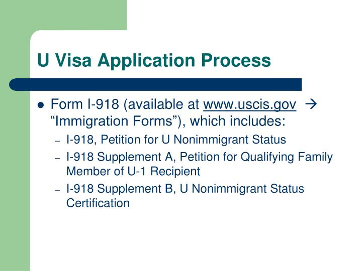PPT - U Visa – Relief for Immigrant Crime Victims PowerPoint ...