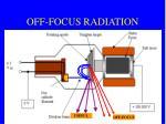 off focus radiation