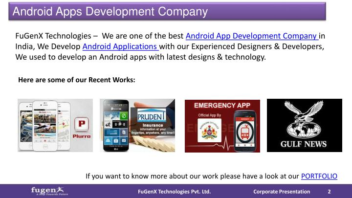 Android Apps Development Company