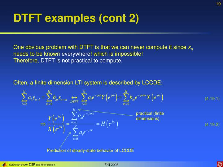 DTFT examples (cont 2)
