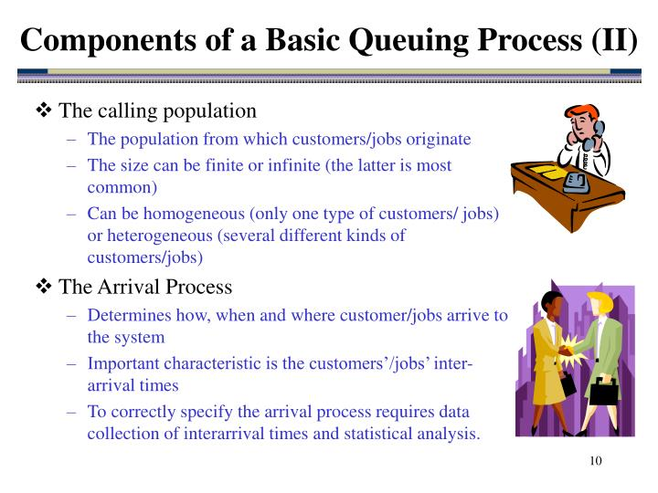 Components of a Basic Queuing Process (II)