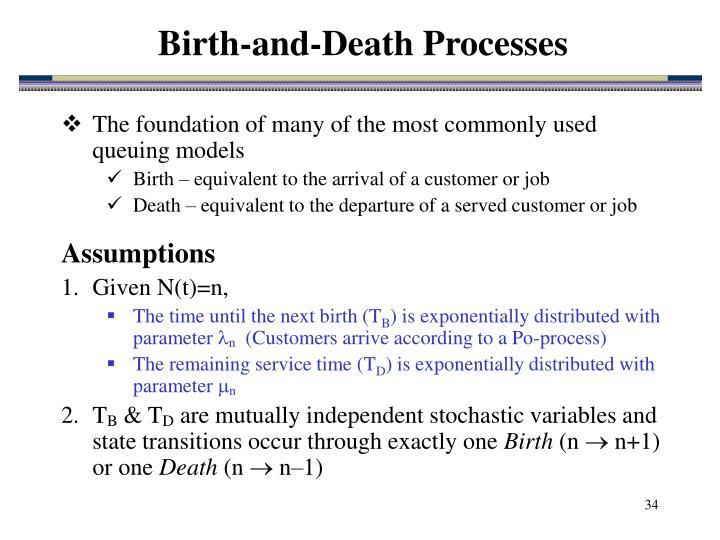 Birth-and-Death Processes