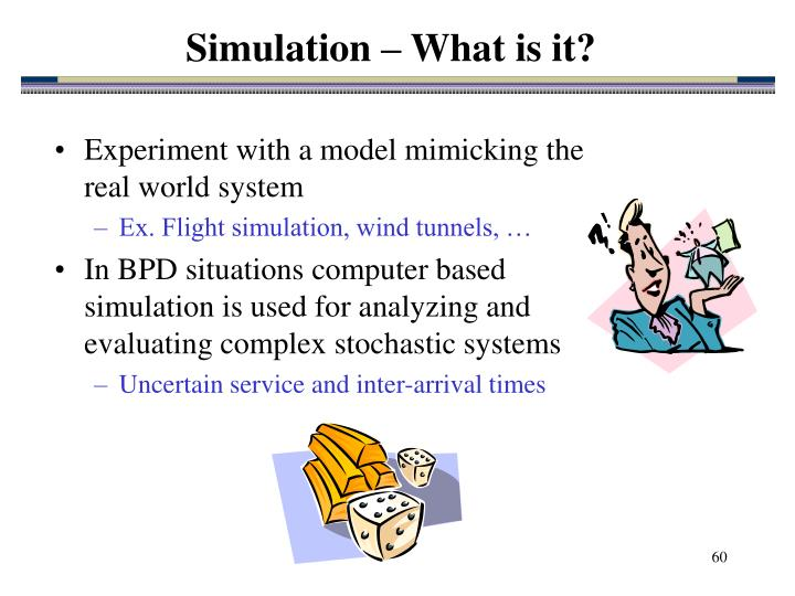 Simulation – What is it?