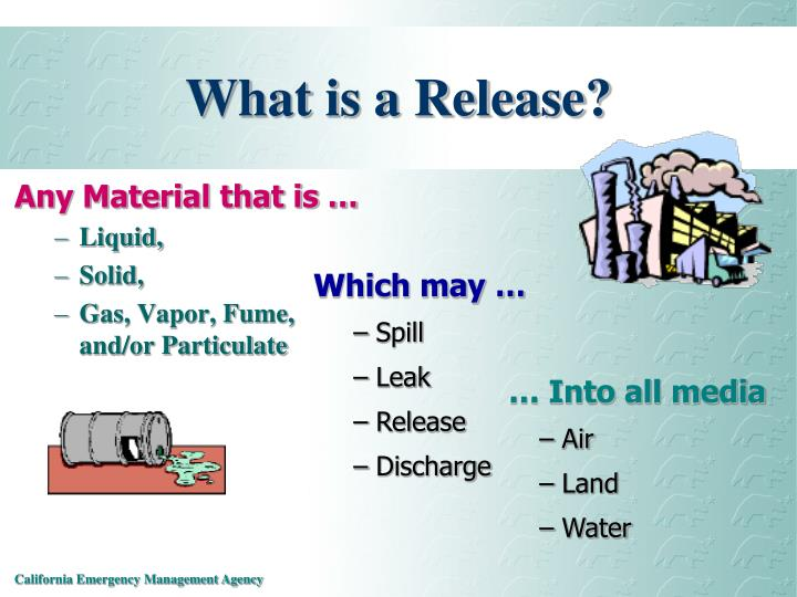What is a release