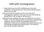 var with cointegration2