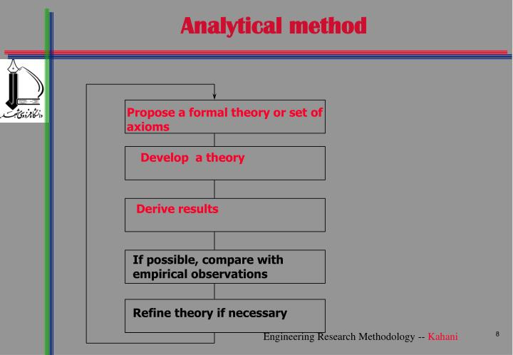 Analytical method
