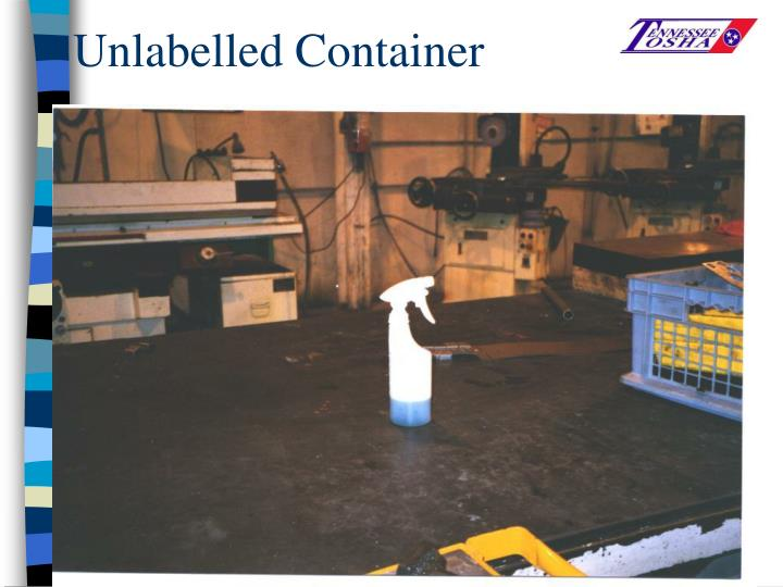 Unlabelled Container