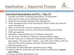 application approval process