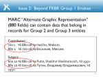 issue 2 beyond frbr group 1 entities