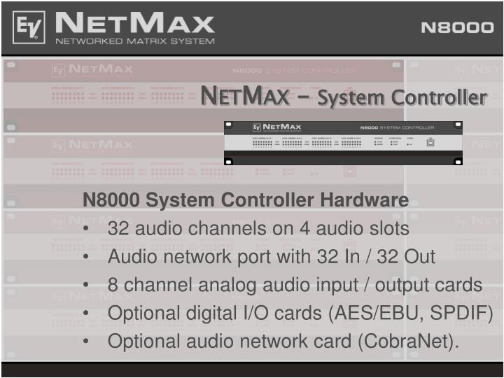 N et m ax system controller