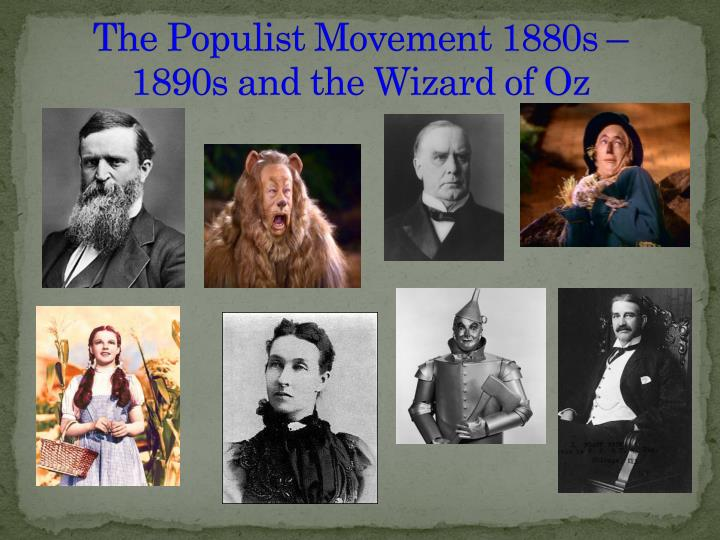 populism and the wizard of oz essay
