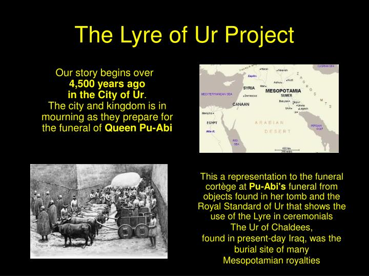 The Lyre of Ur Project
