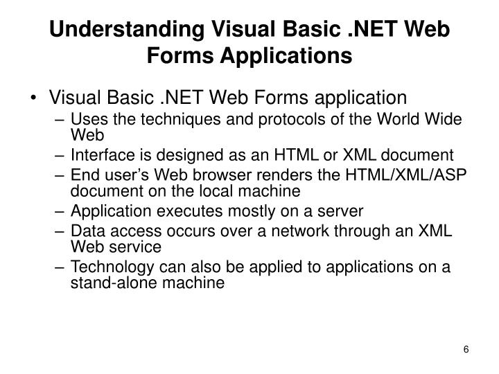 understanding visual basic Understanding visual art is an introduction to the visual arts  gain an overall  introductory view of the visual arts by developing a basic understanding and.