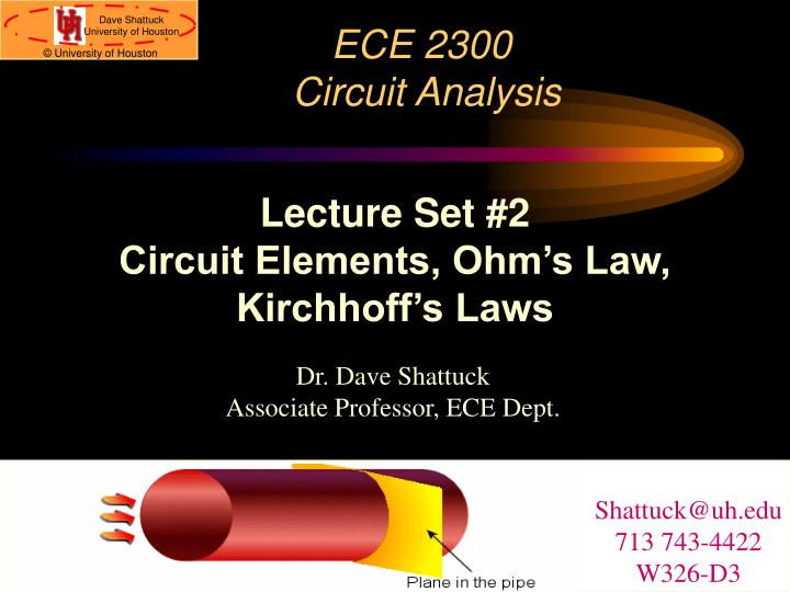 ece 2300 circuit analysis n.
