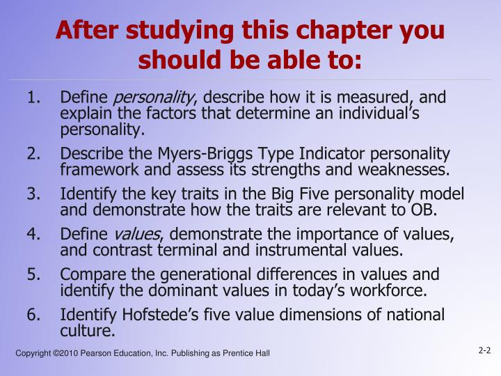 importance of values and organizational behavior