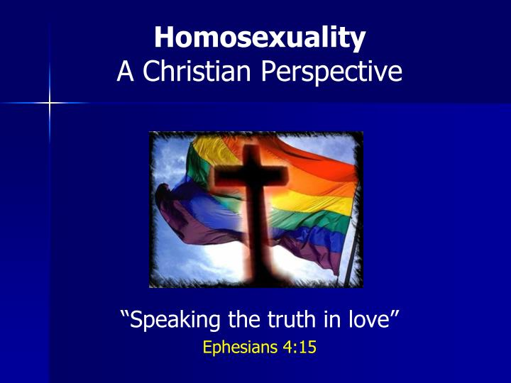 homosexuality in the christian church essay The christian reformed church in north america has maintained the stance since the 1970s that homosexuality is the direct result of a broken, sinful world, but that the church should offer a compassionate community for christian homosexuals homosexualism (explicit homosexual behavior) is considered disobedience to god's will revealed in.