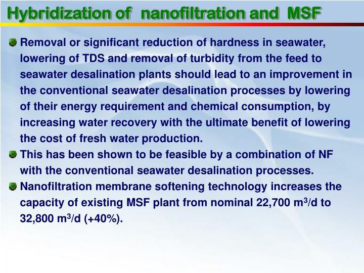 Hybridization of
