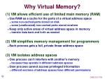 why virtual memory