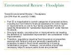 environmental review floodplain