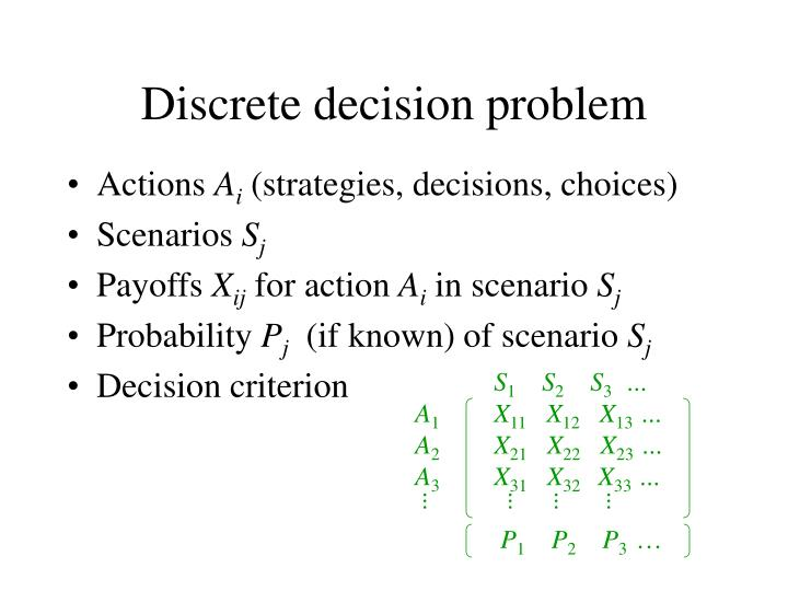 estate case decision problem scenario Take 10 minutes to deeply consider the absolute worst case scenario of the decision you're about to make for example, if you need to let someone go from your business, what is the absolute worst.