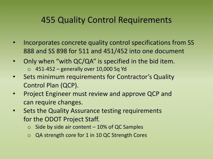 455 Quality