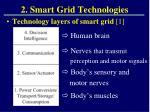 2 smart grid technologies