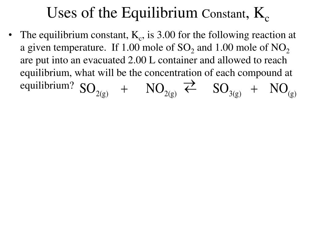 PPT - Equilibrium Basic Concepts PowerPoint Presentation