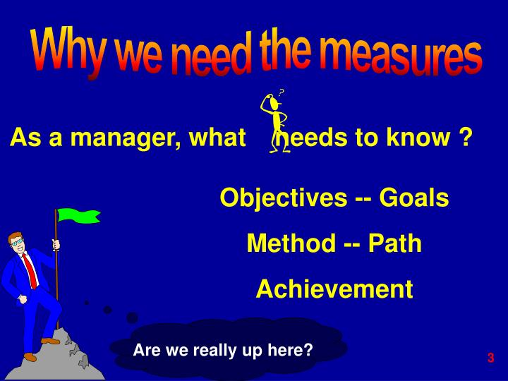As a manager, what    needs to know ?