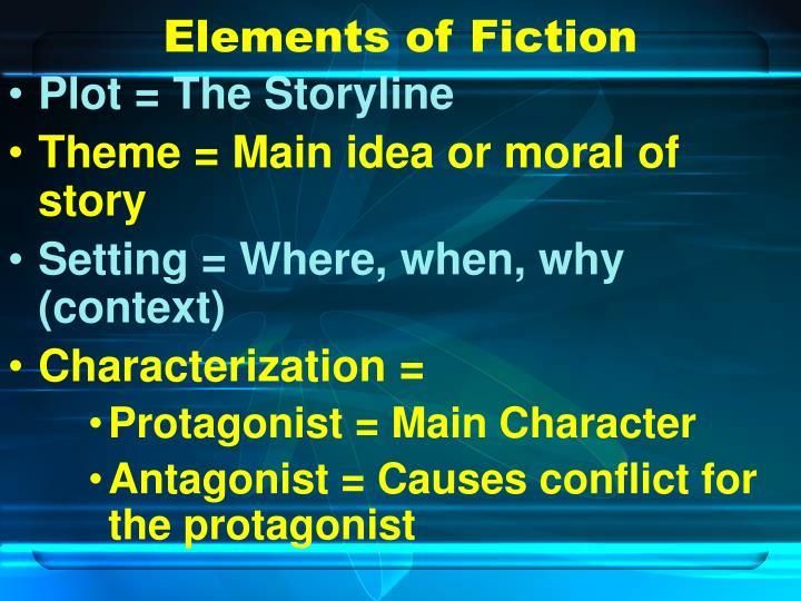 Elements of Fiction