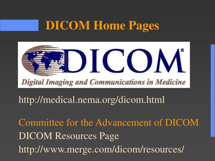 http://medical.nema.org/dicom.html