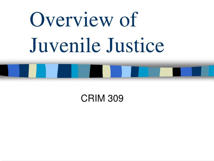 overview of juvenile justice n.