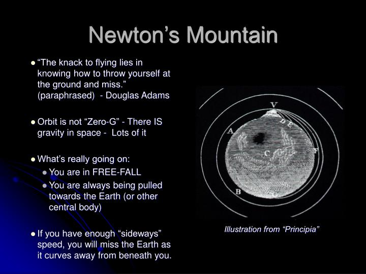 Newton's Mountain