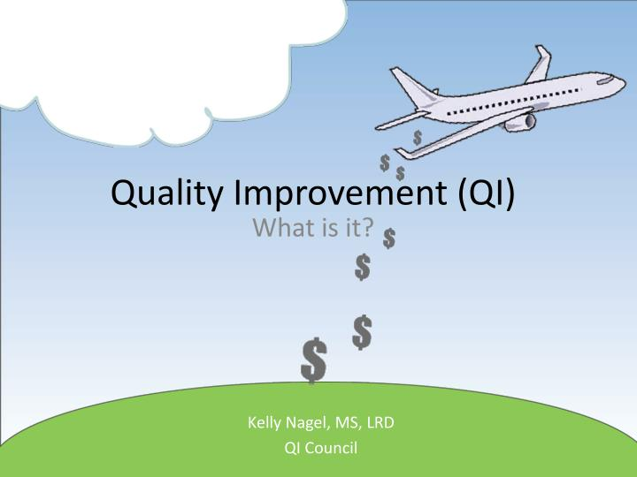 quality improvement qi n.